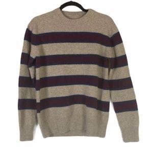 Roots 100% Extra Fine Merino Wool Knit Sweater